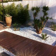 jardin mi zen mi méditerrannéen