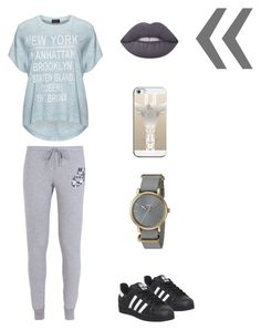 """18 Days of Lime Crime: A Silver Lining"" by snowflake-city ❤ liked on Polyvore featuring Lime Crime, Replace, NIKE, Casetify, Timex and adidas"
