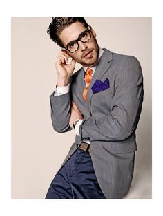 Urban Men Style= <3 check out the handkerchief