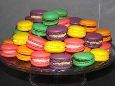 Recettes de ganaches Macaron Thermomix, Thermomix Desserts, Dessert Recipes, Macarons, Ganache Macaron, Kolaci I Torte, Coco, Mousse, Cake Decorating