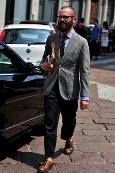 Milan Men's Fashion Week : Angelo Flaccavento #milan #fashionweek #streetstyle #streetfashion #fashion #style