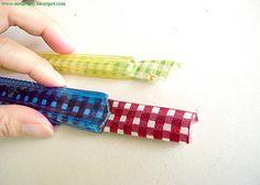 OMG ingenious! Make your own Bias tape maker