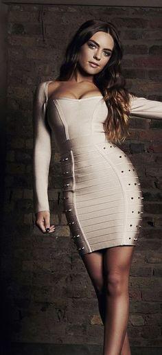 db34885226 Studded Long Sleeve Bandage Dress- available at jaybela.com