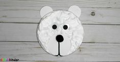 This Puffy Paint Polar Bear Craft is a fun and easy craft to create and the perfect addition to any winter or Arctic unit study.