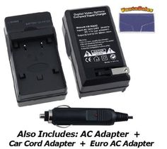 NEW Nikon D3100 Digital Camera Battery Charger (110/220v with Car & EU adapters) - UltraPro Replacement Charger for Nikon MH-24 Charger by Ultra Pro. $14.95. The UltraPro mini rapid charger plugs directly into your wall outlet and charges your digital camera battery in approximately 60-90 minutes. Its unique flat pin, foldable design allows easy storage and makes it the most compact battery charger on the market. Features include: Foldable flat pin for easy st...