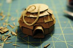 Rust & Sunshine: 12 Days of Christmas Ornaments - Day 7: Cardboard Igloo