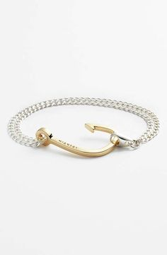 Miansai | Gold Hook Chain Bracelet #miansai #bracelet