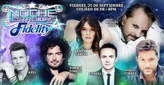 #NochedeEstrellas #Fidelity el viernes, 25 de septiembre en el #Coliseo de Puerto Rico. Con #MiguelBosé, #TommyTorres @KanyGarcía, #DiegoTorres #FONSECA y #Axel. Boletos en @ticketpop >> http://bit.ly/nocheestrellaspr  #musica #conciertos #puertorico #ticketpop #concert #concerts