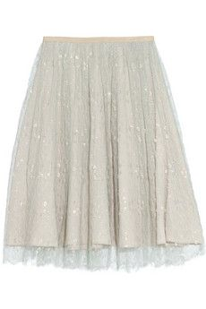 J.Crew Collection tulle midi skirt | NET-A-PORTER