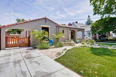 Spanish Bungalow is San Jose's Shasta Hanchett Neighborhood. Blue Ceilings, Storm Clouds, Book Nooks, Brown And Grey, The Neighbourhood, Spanish, California, Warm, Bungalows