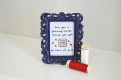 Are you a parking ticket cause you got FINE by CatInLapStudio $18.00