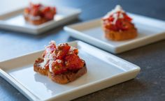 Little Italy Bruschetta. So quick to make. I also like to brush a little prepared Little Italy on tortilla shells and bake them to make chips. Bruschetta, Soirée Des Oscars, Valentines Day Food, Valentine Treats, Smoothie Drinks, Smoothies, Little Italy New York, Epicure Recipes, Menu