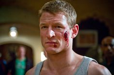 Philip Winchester - Strike Back, who'll be the inspiration for the character of a traumatised soldier in my upcoming novel set in Medieval England
