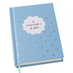 A SENTENCE A DAY JOURNAL: CELEBRATE TODAY - Celebrate Today - Collections - Stationery