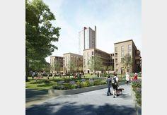 Nightingale Estate regeneration by KCA, Henley Halebrown Rorrison, Stephen Taylor and Townshend Landscape Architects