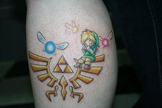 Din , Nayru, Farore from Zelda OoT (Ocarina of Time) SWEET tattoo