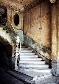 Staircase in cuba. Photo by Sharyn Cairns