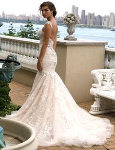 Gorgeous Eve of Milady wedding dresses; click to see more details