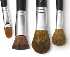 Really good bare minerals brushes x