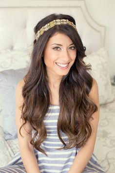 cute hairstyle summer hairstyle headband hairstyle