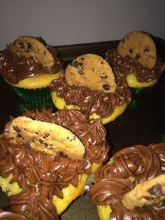 Chocolate chip cookie cupcakes #eviespastries