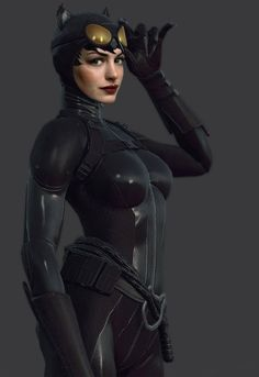 I was pleasantly surprised at how well Anne Hathaway did Selina Kyle, I didn't think she could go from Princess Diaries to Catwoman, but she did