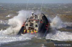 KNRM @knrm De reddingboot van KNRM Scheveningen, Kitty Roosmale Nepveu. Gezien deze zaterdag door fotograaf