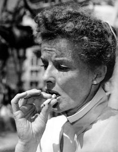 """oldhollywood: """" From Katharine Hepburn's 1981 interview with Barbara Walters: Hepburn: """"I have not lived as a woman. I have lived as a man…I've just done what I damn well wanted to and I made enough money to support myself. And I ain't afraid of. Connecticut, Don Corleone, Barbara Walters, Divas, Thing 1, Up Girl, Old Hollywood, Hollywood Stars, Classic Hollywood"""