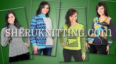 Crochet and Knitting Pullovers Sweaters Collection  http://sheruknitting.com/sherufashion/collections/item/737-crochet-and-knitting-pullovers-sweaters-collection.html