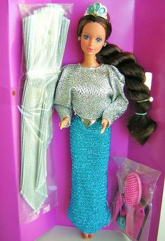 Jewel Secrets Whitney Barbie doll .... Oh where oh where are you.... Nadalie????