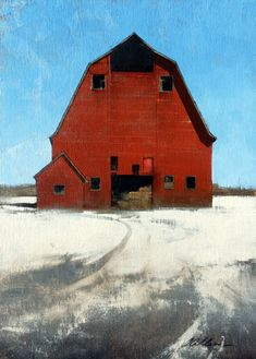 """Red White Blue by Joseph Alleman Oil ~ 15"""" x 11"""""""