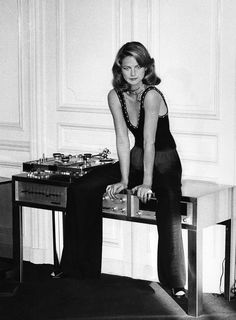 Charlotte Rampling by Helmut Newton for Vogue, January 1974