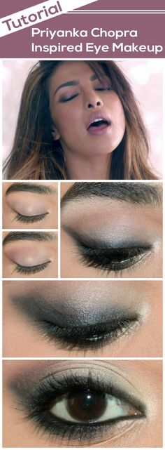 Are you crazy about eye makeup and love to try out everything new? Then here's an inspired priyanka chopra eye makeup tutorial with detailed steps for you to try out