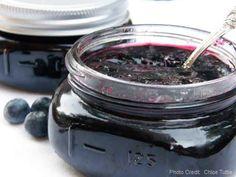 Blueberry jam! :D