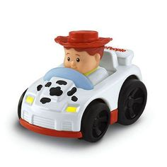 (FOR K) Amazon.com: Fisher Price LITTLE PEOPLE WHEELIES Disney Pixar TOY STORY Cowgirl JESSIE Car: Toys & Games