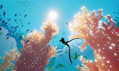 Abzu<-- It's soo beautiful~~ It makes you want to go and actually want to see what's in the ocean~