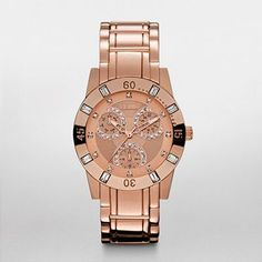RELIC® Watches Trend Watches: Beth Rose Gold IP Multifunction Bracelet Watch ZR15668 Love this rose gold trend!
