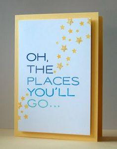 graduation card  I love Dr Seuss quotes!