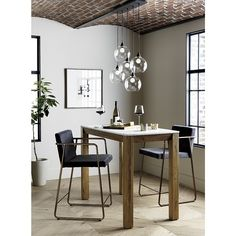 Shop palate high marble top dining table. Progressive table for four rises to the occasion with a fresh pairing in small dining.
