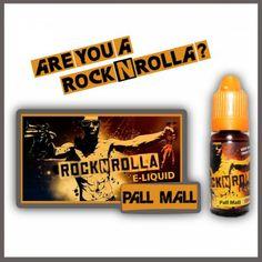 ROCKNROLLA Pall mall 10ml. Find out more in www.nexxton-ecig.com Rock N, Vape, Pall Mall, Usa, Cigar, Drum, Virginia, Prince, Spirit
