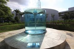 Beautiful water sculpture by William Pye – Charybdis – Vortex Fountain | Marvelous