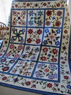 Stars in the Garden by Janet Beyea by via Flickr - I love it! That's the pattern I'm doing right now!