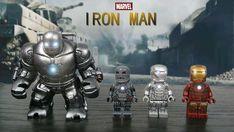 Finally all my Iron Man minifigures finish! Lego Iron Man, Phase 4, Joker Art, Lego Marvel, 5 Year Olds, Legos, Avengers, Superhero, Guys
