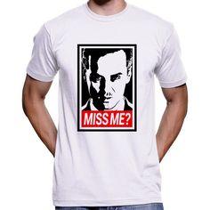 "Jim Moriarty ""Did You Miss Me?"" Sherlock Holmes T-Shirt / Hoodie"