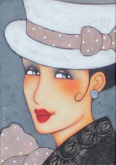 Hola amigas!esta vez quiero compartir un par de láminas muy modernas y muy femeninas,todas ellas de mujeres que nacen del pincel de Corinne ...