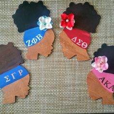 Sorority Tribute Section features 4 of the Divine Nine Sororities and Yes you can customize with your own Sorority! Black Art Painting, Black Artwork, Aka Sorority, Sorority And Fraternity, African American Art, African Art, Fall Crafts, Arts And Crafts, Delta Sigma Theta Gifts