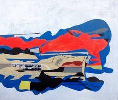 Jim Harris: Probe X #art #painting #abstract #cosmology