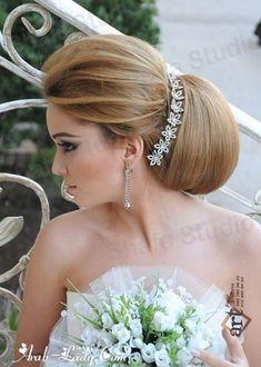 تسريحات للعرائس غاية في الرومانسية والجمال