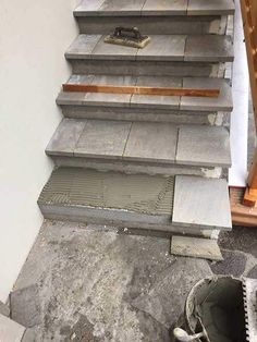 Tiled Staircase, Stairs, Entryway, Backyard, Play Areas, Architecture, Mudroom, House, Construction