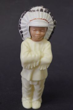 "Very good shape, and clean. Stands approx 5 1/2"" tall. Calumet Baking Soda promo! 